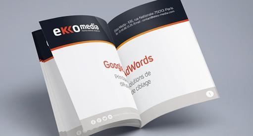 ivre blanc Google Adwords proposé par Ekko Media agence search et emarketing experte Adwords