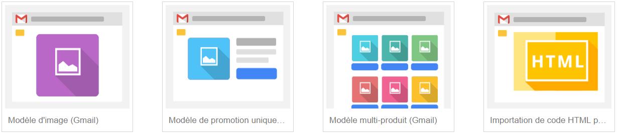 Modèles des campagnes Adwords GSP