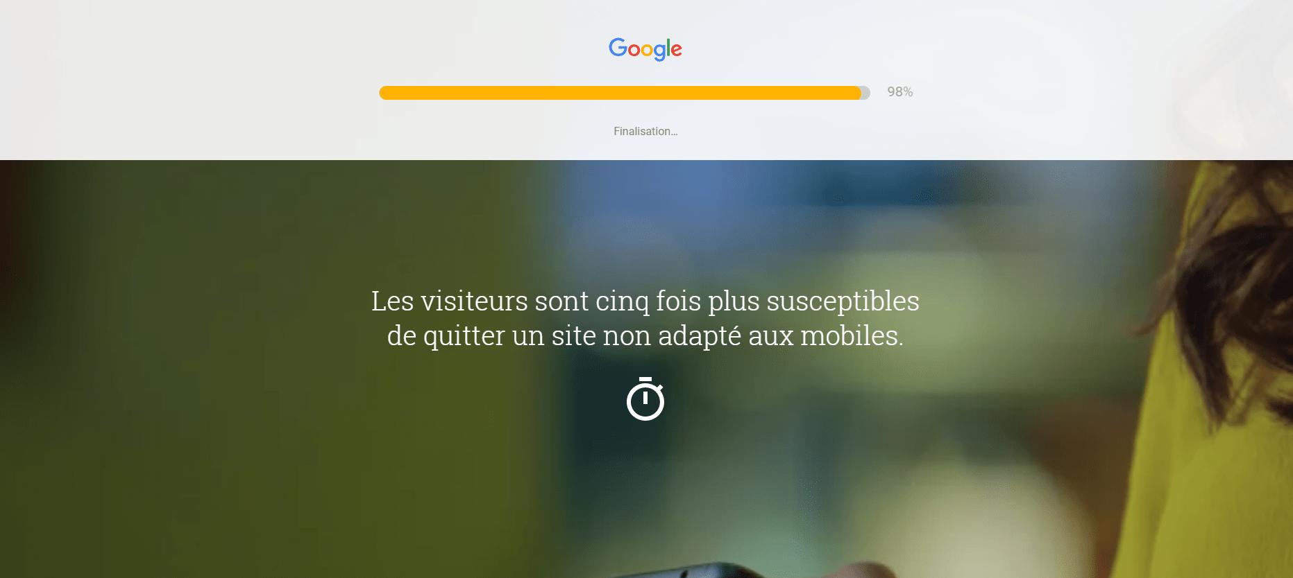 Site mobile Google friendly