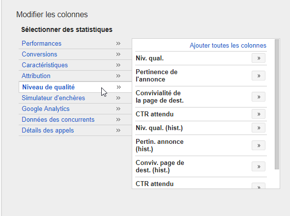 quality score google adwords
