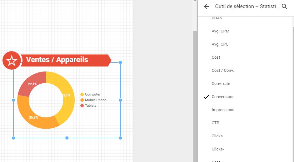 data studio adwords