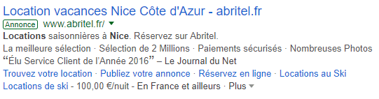extension annonce google adwords