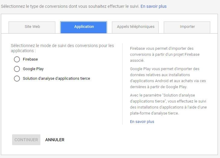 Agence Google Analytics - App indexing