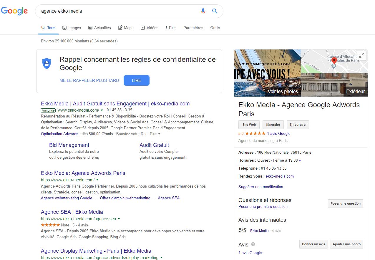 acheter sa marque sur Google Ads