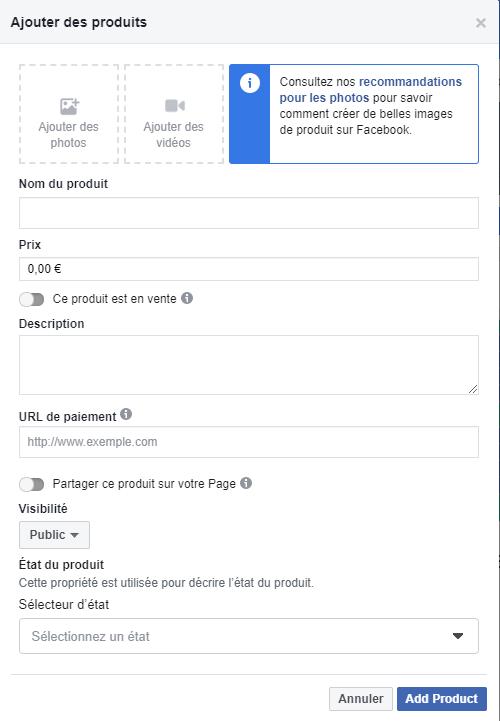 Facebook Shops
